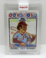 Topps Project 70 #28 Efdot 2008 Card Design Mike Schmidt Philadelphia Phillies