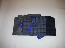 Long Sleeve Men's Flannel Shirts APT.9 2XL,XL,Multi Color Plaid 100% cotton NWT