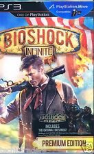 BioShock Infinite -- Premium Edition (Sony PlayStation 3, 2013)  Factory Sealed