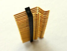 5 x 2mm Pitch, 50 Way, Double 25 way in 2 Rows Gold Plated Straight Header Pin