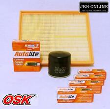 HOLDEN AH ASTRA PETROL 1.8L Z18XE OIL AIR FILTER SERVICE KIT+SPARK PLUGS 04-07