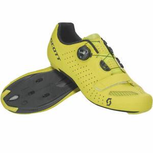 Scott Road Comp Boa Shoes 43 Matte Sulphur Yellow/Black Men's Size 9.5 US/43 EU