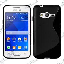 Funda Carcasa TPU silicona Gel S-Line NEGRO Samsung Galaxy Trend 2 Lite SM-G318H