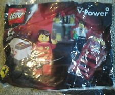 LEGO 30196  RACERS FERRARI PIT CREW FORMULA 1 SHELL V POWER 3 MINI FIGS BNIB