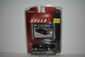 Green Light Speed American Muscle 1967 Pontiac GTO Convertible 1:64 2007 NIP