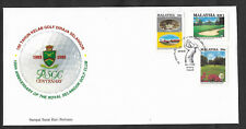 (FDC93008) MALAYSIA 1993 100th Anniv Royal Selangor Golf Club First Day Cover