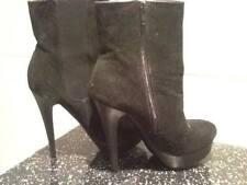 DESIGNER FIORE BRAND NEW BLACK PLATFORM BOOTS SIZE 3 UK LADIES WOMEN