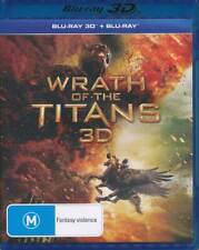 WRATH OF THE TITANS (2012) Blu-ray 3D & 2D New & Sealed
