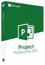 GENUINE RETAIL - Microsoft Project 2019 Professional (Windows)