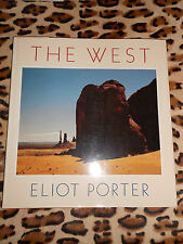 THE WEST - Eliot Porter - First edition 1988