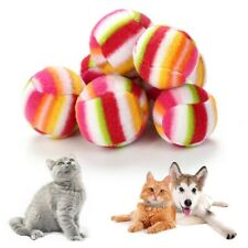 Pet toy ball Multicolor Cat Kitten Pet toy Training Play Soft ball Pet Suppliers