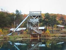 """Photo Of """" Giant Water Slide """" At Abandoned Dogpatch Usa Amusement Park Postcard"""