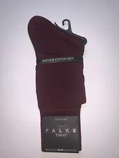 Falke Tiago Fil D'ecosse Barolo Socks Size 8½ - 9½