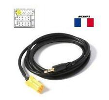 Cable auxiliaire lecteur MP3 IPHONE autoradio ALFA ROMEO 159 à partir de 09/2005