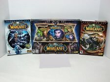 World of Warcraft games bundle, Battle Chest Big box Plus Expansions.