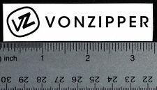 VON ZIPPER STICKER Von Zipper Skate Surf Snowboard Decal