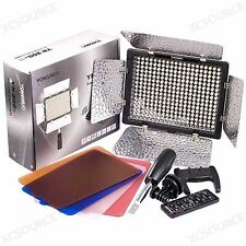 YONGNUO YN-300 LED Video Camera Light Camcorder Photo Lighting 5500K with Filter