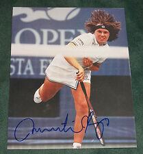 "*SEXY!!!* MARTINA HINGIS signed ""US OPEN"" 8X10 Photo - Wimbledon COA"