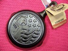 Lodge American Series #3 Eagle 2012 Cracker Barrel Cast Iron Advertising Skillet