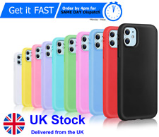 Case for iPhone 12 11 Plus XR XS MAX Shock Proof Soft TPU Silicone Phone Cover