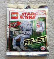 LEGO Star Wars - Super Rare 911837 AT-ST Foil Pack - Limited Edition