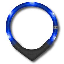Leuchthalsband LEUCHTIE plus - für Hunde LED Halsband blau 40