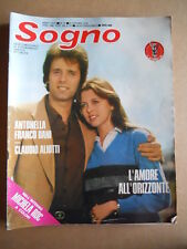 SOGNO Fotoromanzo n°19 1978 ed. Lancio  [G579]