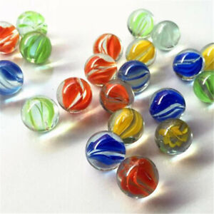 Toy Colorful 14mm Glass Marbles Glass Ball Bouncing Ball Machine Beads
