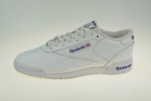 Reebok Exofit Lo Clean Logo AR3169 Leather Mens Trainers Size Uk 7