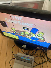 Nintendo NES The Simpsons: Bart vs. The Space Mutants Authentic Tested