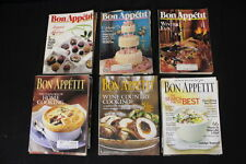 Lot of 34 Bon Appetite Cooking Magazines 1989-2003 Excellent Condition