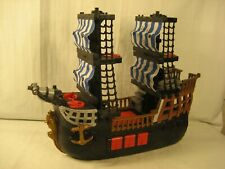 2006 MATTEL FISHER PRICE PIRATE SHIP GOOD USED CONDITION
