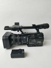 Sony Hvr-Z7U Hdv 1080i Progressive Camcorder High Definition Zeiss Lens