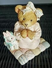"1992 Enesco Cherished Teddies Patrice Praying ""Thank You For The Sky so Blue"""