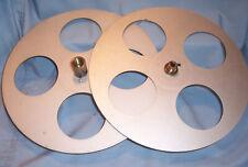 35MM 1200' 12.25 Goldberg Motion Picture Film Movie Projector Take Up SPLIT Reel