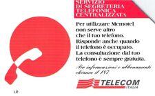 *G 614 A C&C 2664 A SCHEDA TELEFONICA USATA MEMOTEL VARIANTE ALFANUMERICA
