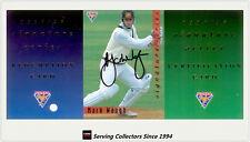1994/95 Futera Cricket Trading Cards Signature Card SIG4-Mark Waugh-Re+Sign+Cert