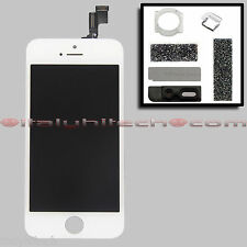 LCD SCREEN DISPLAY RETINA ORIGINALE IPHONE 5S A1457 A1530 A1533 BIANCO + RICAMBI