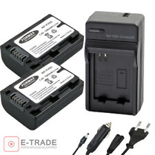 Batteries for Sony NP-FH50 for ALPHA A230 A290 A330 A380 A390 HDR SX SR charger