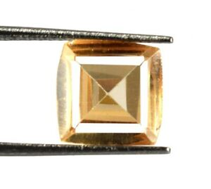 Pakistan Brown Axinite Gems Fancy Square 5.40 Ct 100% Natural Certified V8122