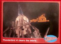 THUNDERBIRDS - Thunderbird 4 Clears the Debris - Card #54 - Cards Inc 2001