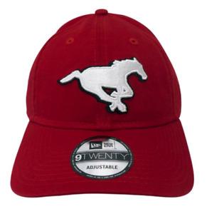 Calgary Stampeders CFL New Era Basic Logo Relaxed Fit 9TWENTY Adjustable Cap Hat