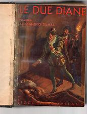 le due diane-romanzo di alessandro dumas illustrazioni di bebbe ingegnoli -1934