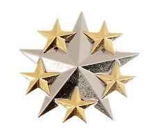 US UNITED STATES ARMY SIX STAR GENERAL RANK METAL BADGE -34058