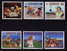 Guernsey Alderney 2000 Wombling Holiday SG A146-A151 MNH