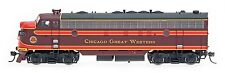 InterMountain HO 49947S Chicago Great Western CGW  FP7 Locomotive DCC Sound