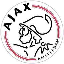"Ajax Amsterdam FC Netherlands Football Soccer Car Bumper Sticker Decal 4.5""X4.5"""