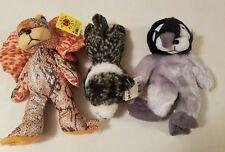 Beanie Kids - animal theme bundle of 3