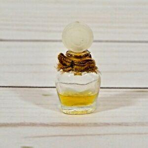 Vintage Cabochard GRES Micro Mini Miniature Perfume with Fabric Bow