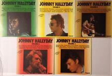 LOT DISQUES 33T LP IMPACT SPECIAL JOHNNY HALLYDAY